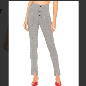NWOT Lovers and Friends houndstooth pants.